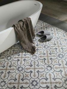 Tipo suelo cerámico hidraulico baño