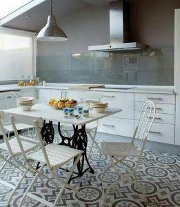 Tipo suelo - cocina