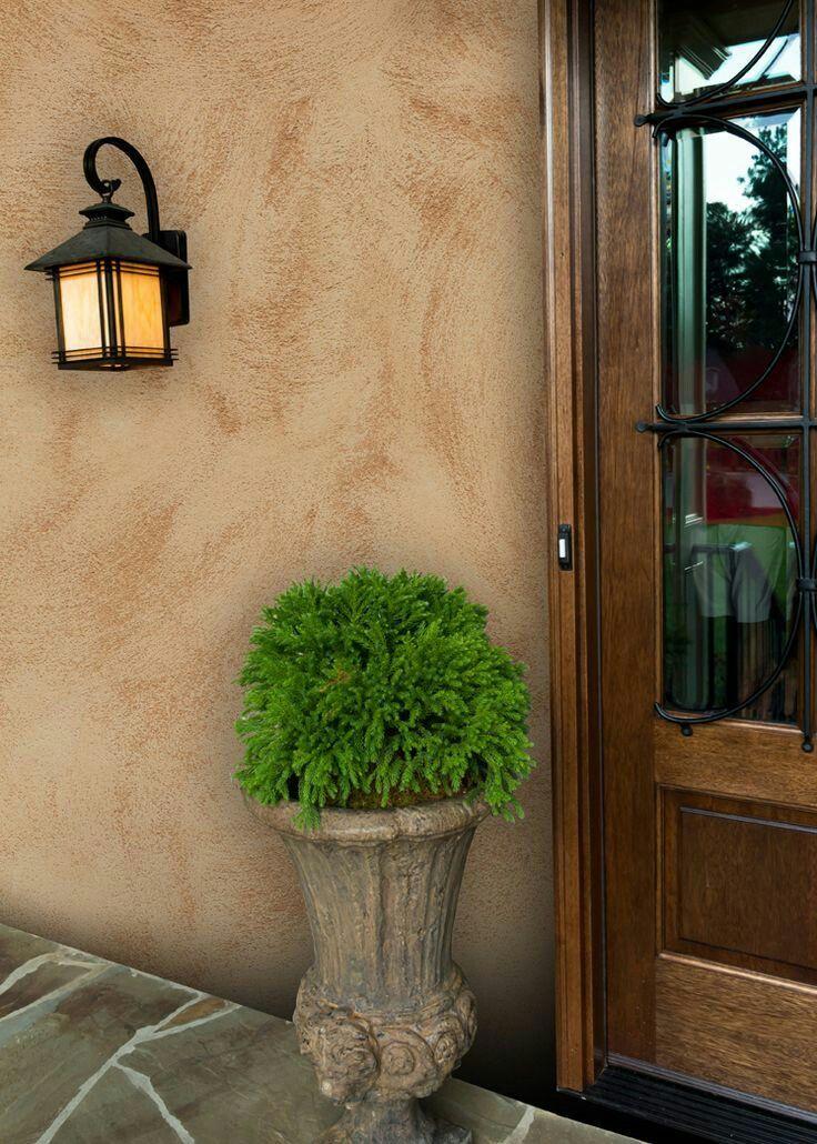 Tipos de pintura pared efectos y texturas viste y - Pintura decorativa para paredes ...