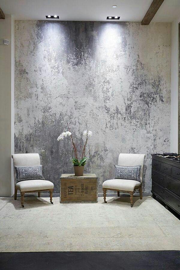 pintura pared - Pintura efecto metalizado