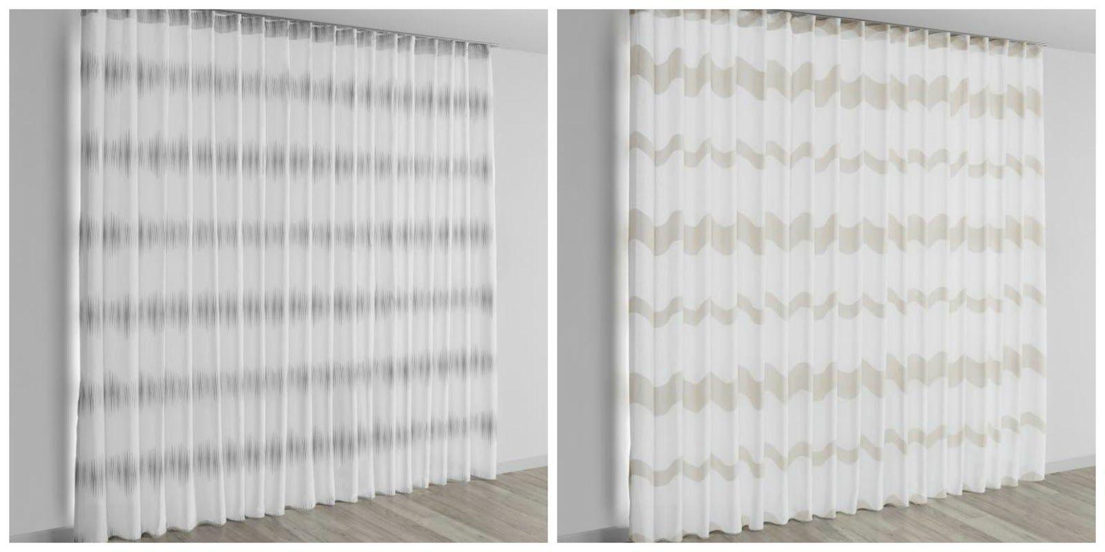 tipos de cortina