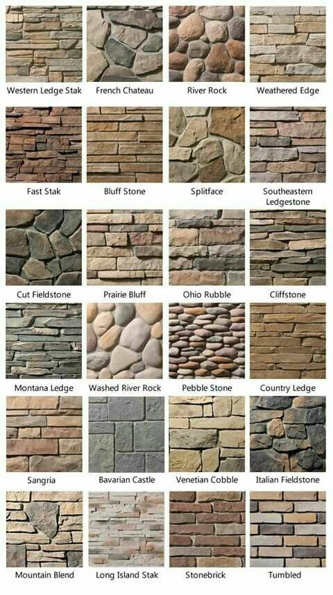 Revestimiento pared piedra y ladrillo