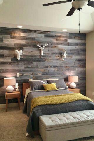 Revestimiento pared madera