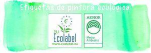 etiqueta pintura ecologica